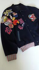 "Harlem Globetrotters Jacket ""WORLD TOUR"" Players Jacket Worn by the PLAYERS 2X"