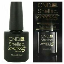CND Shellac Top Xpress 5 coat 15 ml  Big Size 100% Original Made in USA Kit Set