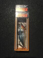 "Rapala RNR 4 Rattlin Rap CHB Chrome Blue   1-1/2"" 3/16 Oz (made In Ireland)"
