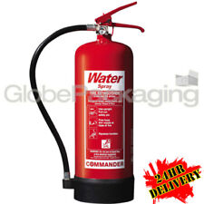 Brand New 6 Litre Water Fire Extinguisher For Home Office Industrial Use *OFFER*