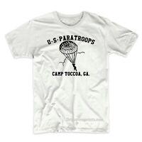 US PARATROOPS Camp Toccoa GA Army T-Shirt