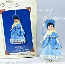 2003 Hallmark Elizabeth Beth March Ornament Madame Alexander Little Women #3 MIB