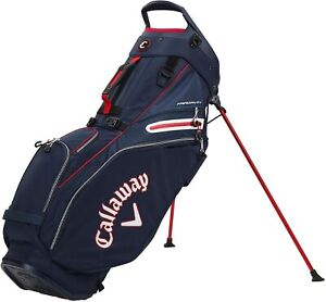 New Callaway Golf 2021 Fairway 14 Stand Bag 14-Way Top COLOR: Navy/White/Red
