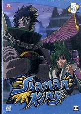 SHAMAN KING Vol.5 DVD NEW Sigillato