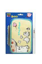 Nintendo 3DS LL XL Star Kirby Pupupu Friends Pouch Bag Case Japan Import F/S