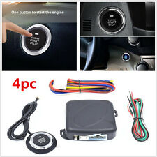 Universal Car Alarm Start Security System Key Passive Keyless Entry Push Button