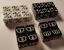 20x Counter, Negative & Planeswalker Loyalty Dice for Magic: The Gathering MTG