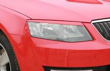 Skoda OCTAVIA 3 eyebrows genuine  ABS plastic  2014 headlights spoiler eyelids