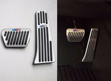 2PCS M Emblem AT Alu Bremsdrossel Pedal Silber Für BMW X5 X6 2012-2016