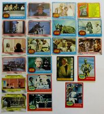 Collectable Star Wars trading cards, lot of 21, good condition from 1977 -  # 3