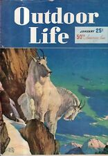 1948 Outdoor Life January - Black Hills; TN Russian boars; Doves; Pointer