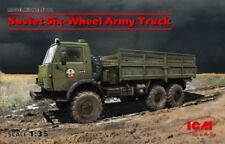 KAMAZ 4310 SOVIET SIX WHEEL ARMY TRUCK #35001 1/35 ICM