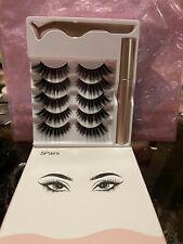 5 Set Magnetic eyelashes and Eyeliner Set New with Free Shipping