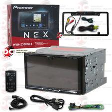 "PIONEER CAR 7"" LCD DIGITAL MEDIA BLUETOOTH STEREO FREE BLACK FULL LICENSE CAMERA"