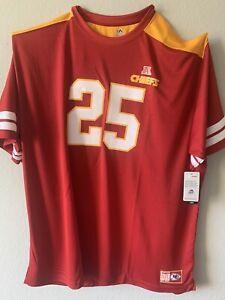 NFL Jamaal Charles #25  Men's Size 5XLT Big $ Tall Jersey Chiefs Majestic New