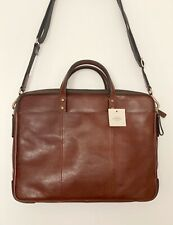 Fossil Tasche Leder Neu Mit Etikett Herren Handtasche Laptoptasche Arbeitstasche