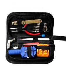 High Quality 16 Piece Watch Repair Tool Kit Set   Back Remover Repairing Tool S