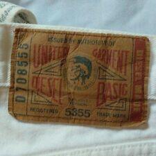 Vintage White DIESEL Denim Men's Jeans 32 x 30