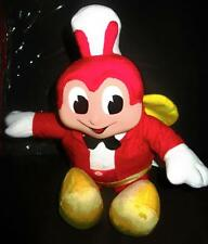 "2016 JOLLIBEE DOLL TALKING and will light up STUFF PLUSH TOY 12"" TALL  HARD FACE"
