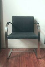 Authentic knoll brno chair with stailess steel bar from 1940's
