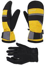 Men's Waterproof Thinsulate Ski Snowboard Mittens Winter Warm Gloves