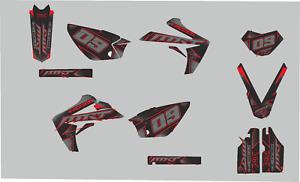 kit deco RIEJU 50 MRT Trophy Noir et Rouge