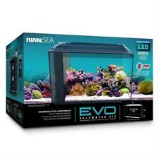 "EVO AQUARIUM COMPLETE KIT 13.5 GALLONS (22"" X 11.5"" X 12.5"") W/SKIMMER & HEATER"