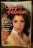 Penthouse Forum Advisor Magazine 1980 Answers To Questions About Human Sexuality