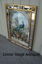 59137 Decorator Peacock Mirror