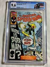 Amazing Spider-Man 279! Savage is the Sable! High CGC Grade!