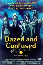 """RICHARD LINKLATER Signed """"DAZED And CONFUSED"""" 12x18 Photo BECKETT BAS #C65790"""