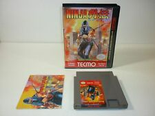 Ninja Gaiden 1 (Nintendo Entertainment System, 1989) NES - COMPLETE Game TESTED