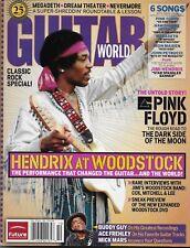Jimi Hendrix Beautiful Nm/Mint Hendrix At Woodstock Guitar World Magazine/Sweet!