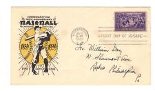 FDC  # 855-13   1939  Baseball     Coulthard