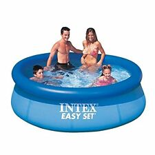 Intex Swimming Pool- Easy Set, 8ft.x30in. Easy Clean 640 Gal 2 Adult 2 Child New