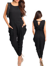 Polyester Hand-wash Only Solid Jumpsuits, Rompers & Playsuits for Women