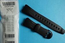 Casio Uhrband Ersatzband WVA-104  schwarz Band Replacement strap