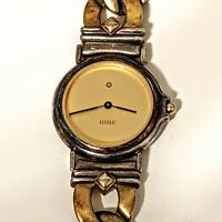 Ecclissi Sterling Silver  Two Tone (Gold & Silver) Ladies' Watch