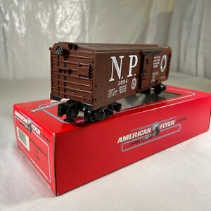 American Flyer 6-48486 NASG 1994 Northern Pacific Box Car S Gauge