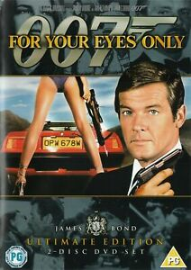 For Your Eyes Only DVD -Ultimate Edition (Reg 2, 2006) FREE POST