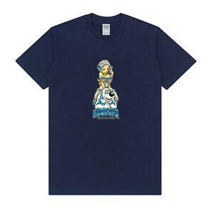 New tee russian bear girls Skateboard hook ups T-Shirt 2021 navy color