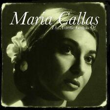 2 CD BOX THE ARTISTIC GENIUS OF MARIA CALLAS PUCCINI VERDI MASCAGNI BELLINI ETC