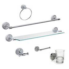 Bathroom Bath Shower Glass Shelf Accessories Soap dish Mosaic Design Sparkle