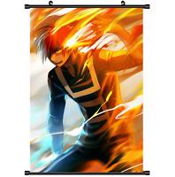 Anime Boku no hero academia My Hero Todoroki Poster Wall Scroll cosplay 2729