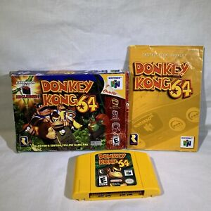 Donkey Kong 64 Nintendo 64 N64 Complete With Box  And Manual NO Expansion Pak