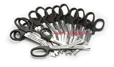 "12 EMT Shears Scissors 7.25"" Black Bandage Paramedic"