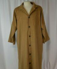 Eskandar Men's Overcoat Sz 1 Camel Hair Brown Career Button Up Retro Cool Large
