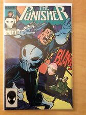 PUNISHER 4, SEE PICS FOR GRADE,  1ST PRINT, 1ST APP MICROCHIP