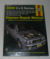 Manuel de Réparation BMW E30 318 325 I Is Ic E / E28+E34 525 528 535 Jusqu'à Bj.