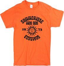 The Wicker Man 'Summerisle May Day Festival 1973' T-Shirt - Various Cols S-XXL